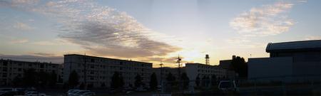Sunsetpanorama